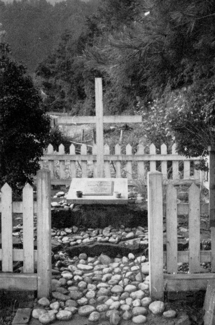 英国捕虜兵の墓地