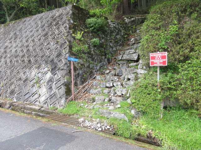 IMG2815JPG求菩提山(五窟)取り付きゴール