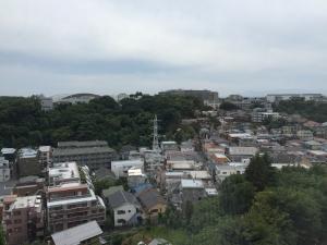 矢上キャンパスから日吉キャンパス