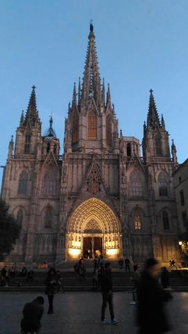 バルセロナ カテドラル 外観
