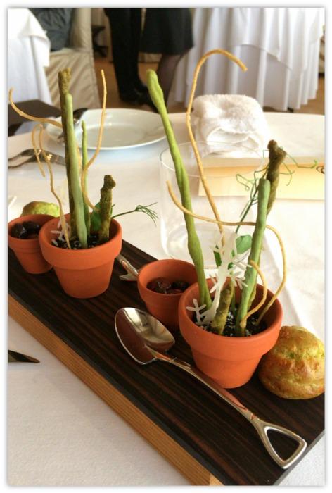 鉢植え前菜