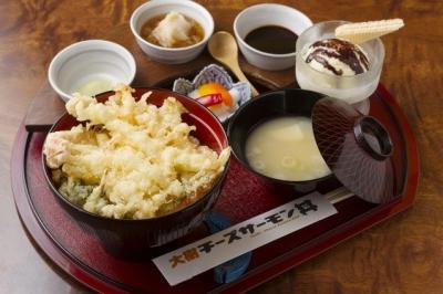 チーズサーモン丼