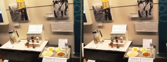 江戸東京博物館 1970年代の展示②(交差法)