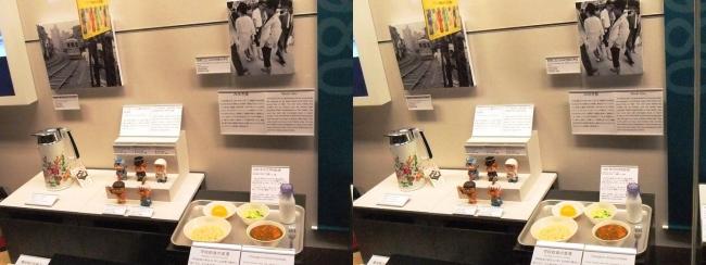 江戸東京博物館 1970年代の展示②(平行法)