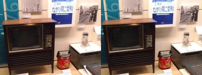 江戸東京博物館 1970年代の展示①(平行法)