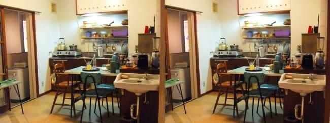 江戸東京博物館 ひばりが丘団地の一室①(交差法)