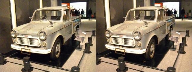 江戸東京博物館 日産自動車 ダットサントラック G222型(交差法)