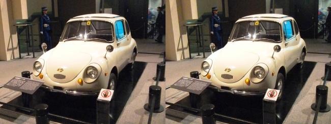江戸東京博物館 富士重工業 軽自動車 スバル 360型(平行法)