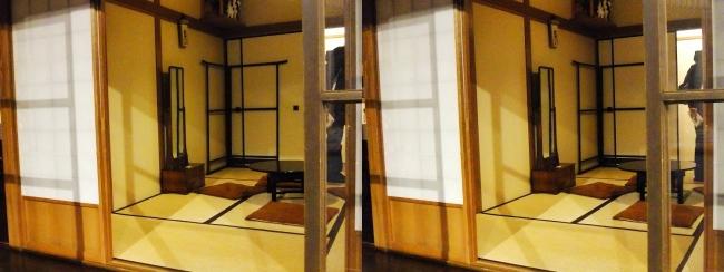 江戸東京博物館 昭和初期の住宅②(平行法)
