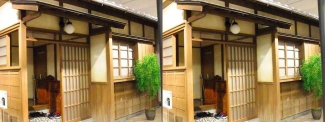 江戸東京博物館 昭和初期の住宅①(平行法)