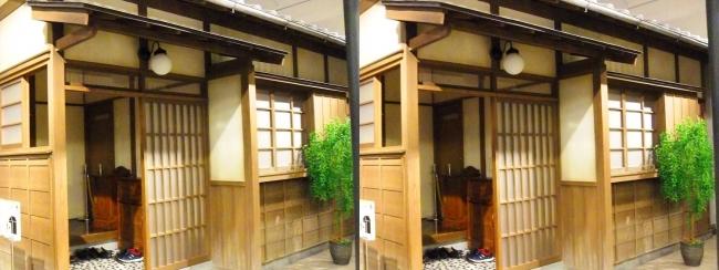 江戸東京博物館 昭和初期の住宅①(交差法)