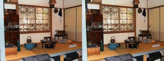 江戸東京博物館 戦時下の住まい(平行法)