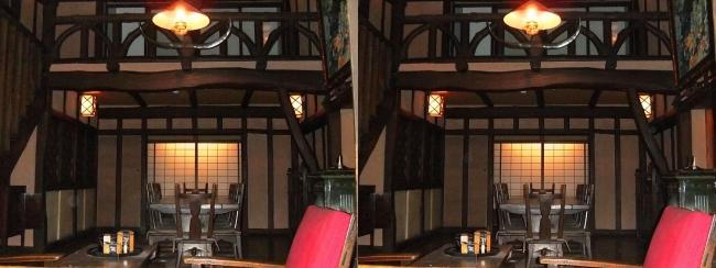 江戸東京博物館 和洋折衷住宅(交差法)
