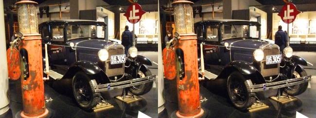江戸東京博物館 フォード・モーター A型フォードアセダン(交差法)