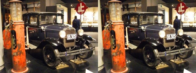江戸東京博物館 フォード・モーター A型フォードアセダン(平行法)