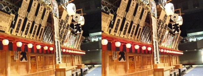 江戸東京博物館 中村座②(交差法)