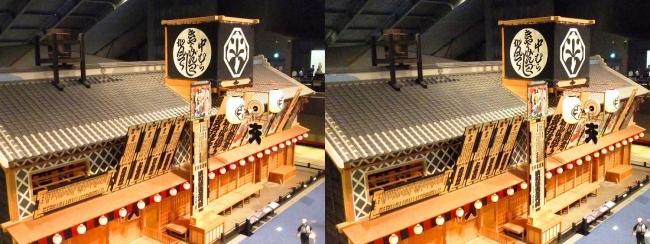 江戸東京博物館 中村座①(平行法)