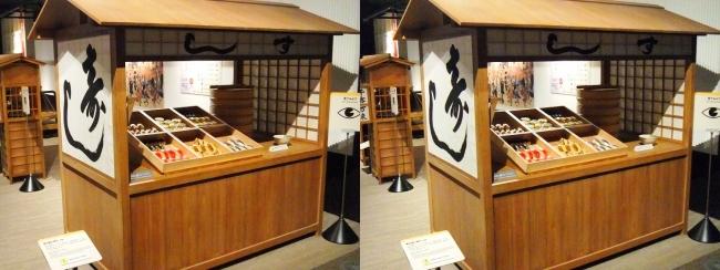 江戸東京博物館 江戸前寿司(平行法)