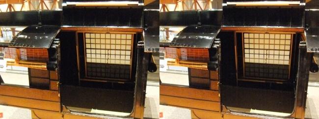 江戸東京博物館 駕籠①(交差法)