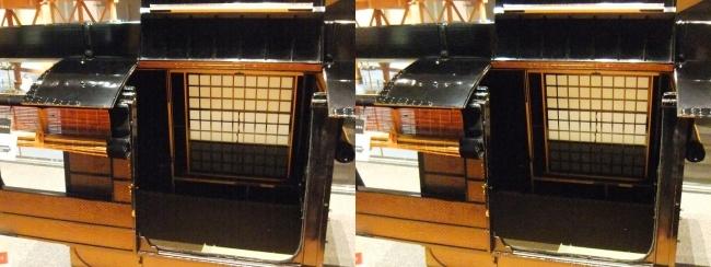 江戸東京博物館 駕籠①(平行法)