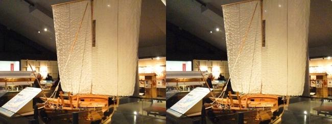 江戸東京博物館 菱垣廻船(平行法)