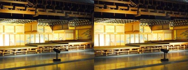 江戸東京博物館 江戸城本丸 松の廊下 模型①(交差法)