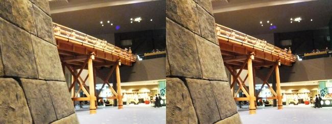 江戸東京博物館 日本橋④(交差法)