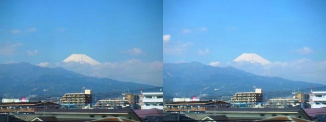 富士山(平行法)