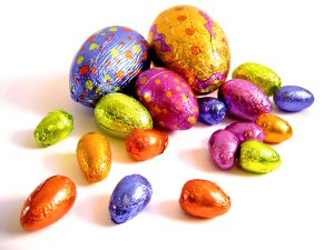 01 300 Easter egg chocolates