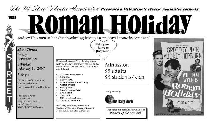 01b 700 01c Roman Holiday pamph 1953