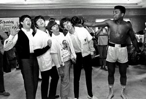 02 1994 Ali with the Beatles