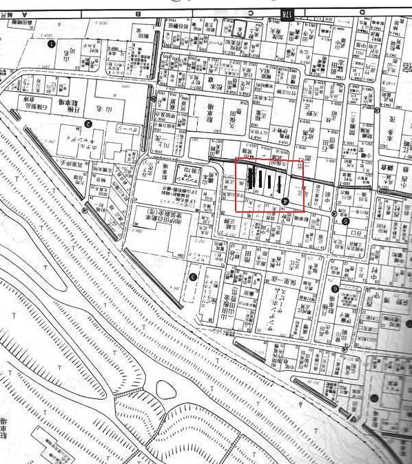 工事以前の住宅地A