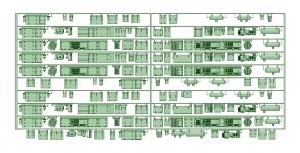 京王8000 10連 初期仕様【武蔵模型工房 Nゲージ 鉄道模型】