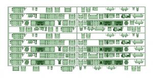 京王8000 10連(6+4固定化仕様)【武蔵模型工房 Nゲージ 鉄道模型】