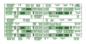 京王8000 10連貫通化仕様(8008F塗油器)【武蔵模型工房 Nゲージ 鉄道模型】