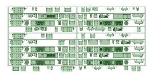 京王8000 10連貫通化仕様(HS20コンプ)【武蔵模型工房 Nゲージ 鉄道模型】