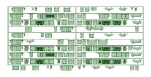 京王8000 10連貫通化仕様(RWS20Jコンプ)【武蔵模型工房 Nゲージ 鉄道模型】