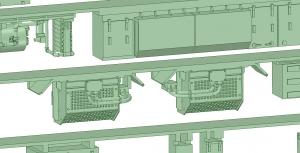 京王8000 8連 8030F VVVF試験(日立東芝)【武蔵模型工房 Nゲージ 鉄道模型】1