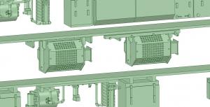 京王8000 8連 8030F VVVF試験(日立東芝)【武蔵模型工房 Nゲージ 鉄道模型】2