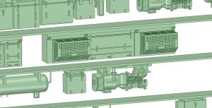 京王8000 8連 8030F VVVF試験(日立東芝)【武蔵模型工房 Nゲージ 鉄道模型】4
