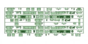 京王8000 8連 8031F(SIV更新塗油器仕様)【武蔵模型工房 Nゲージ 鉄道模型】