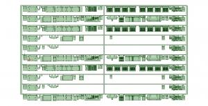 @阪急5100F 10連 床下機器【武蔵模型工房 Nゲージ 鉄道模型】