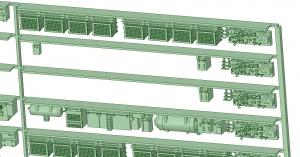 @阪急5100F 床下機器【武蔵模型工房 Nゲージ 鉄道模型】-1