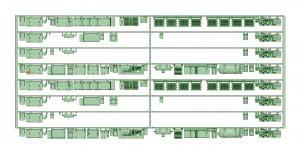 @阪急5100F 床下機器【武蔵模型工房 Nゲージ 鉄道模型】