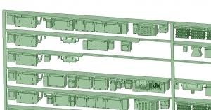 @阪急5100系登場時8連 床下機器【武蔵模型工房 Nゲージ 鉄道模型】-2
