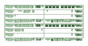 @阪急5128F 更新車床下機器【武蔵模型工房 Nゲージ 鉄道模型】