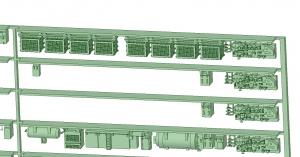 @阪急5128F 更新車床下機器【武蔵模型工房 Nゲージ 鉄道模型】-1