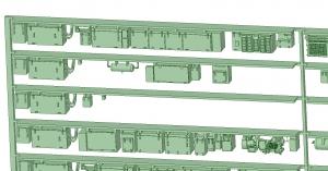 @阪急5128F 更新車床下機器【武蔵模型工房 Nゲージ 鉄道模型】-2