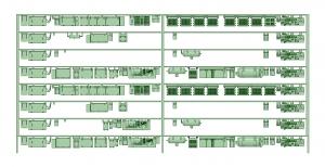 @阪急5132F 床下機器【武蔵模型工房 Nゲージ 鉄道模型】