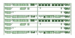 @阪急5146F 床下機器【武蔵模型工房 Nゲージ 鉄道模型】